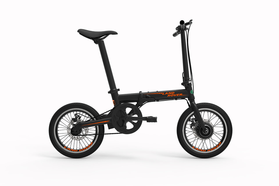 Электровелосипед Land Rover Electric Bike