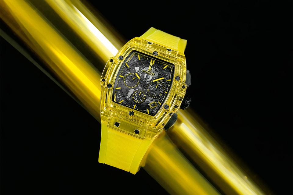 Премьера 2019 года – часы Hublot Spirit Big Bang Yellow Sapphire в корпусе из желтого сапфирового стекла