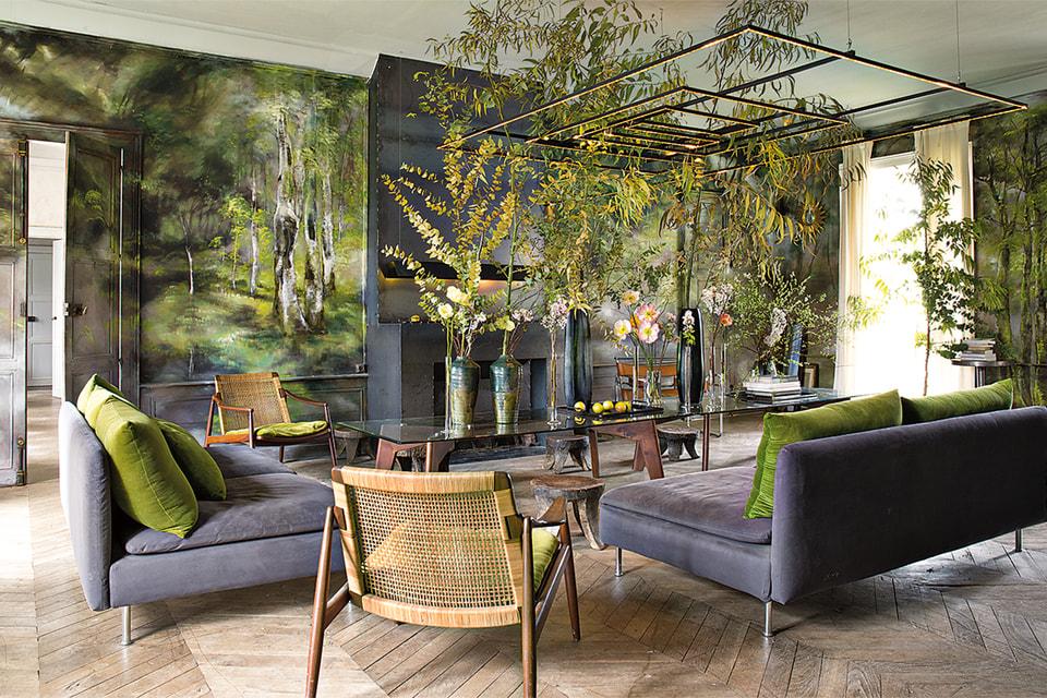 Увидеть волшебные сады Клер можно по выходным: в эти дни двери Шато де Бовуар открыты для друзей