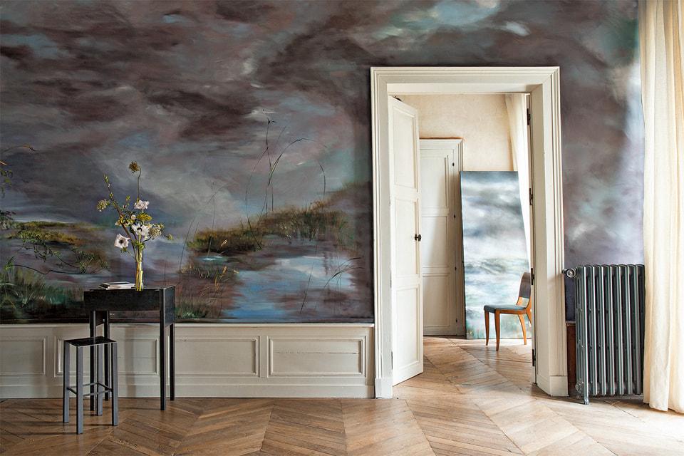 Метод «открытых дверей» художница Клер Баслер практикует и по сей день