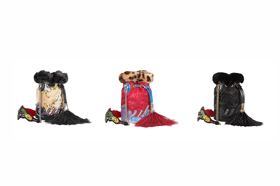 Модели сумок Christian Louboutin, вдохновленные театральной эстетикой России и посвященные Большому театру