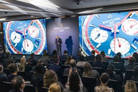 Первый Breitling Summit впервые прошел на прошлой неделе в Москве за два дня до того, как часовой бренд объявил о своем уходе с выставки Baselworld