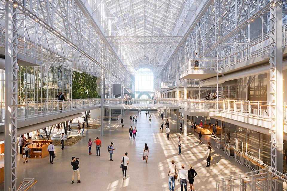 Открытие арт-центра ГЭС-2 в здании начала XX в. ориентировочно запланировано на 2020 год