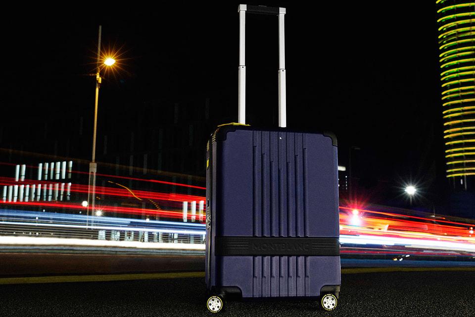 Багаж из лимитированной серии Montblanc x Pirelli