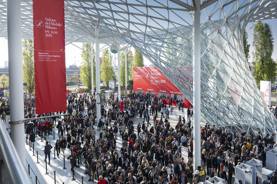 Миланский мебельный салон прошел в выставочном комплексе в Ро на площади более 205 000 м²