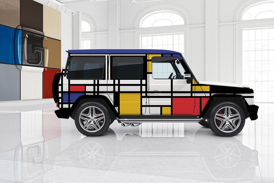Проект «Автосалон Мондриана»