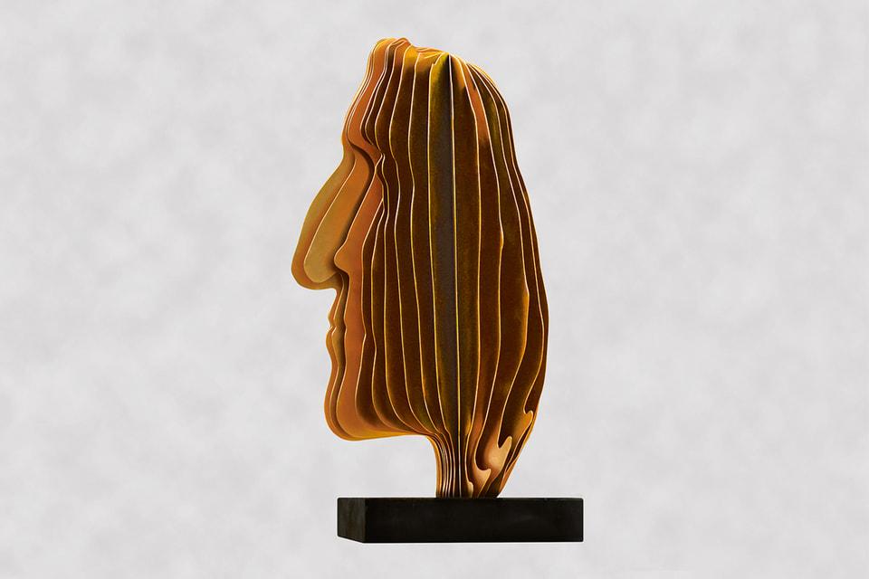 Посмертная маска Данте, автор – В.Клюкин