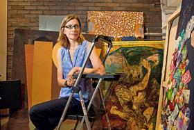 Автор Mapping Paintings – Джоди Кранстон, профессор истории искусства и архитектуры Бостонского университета