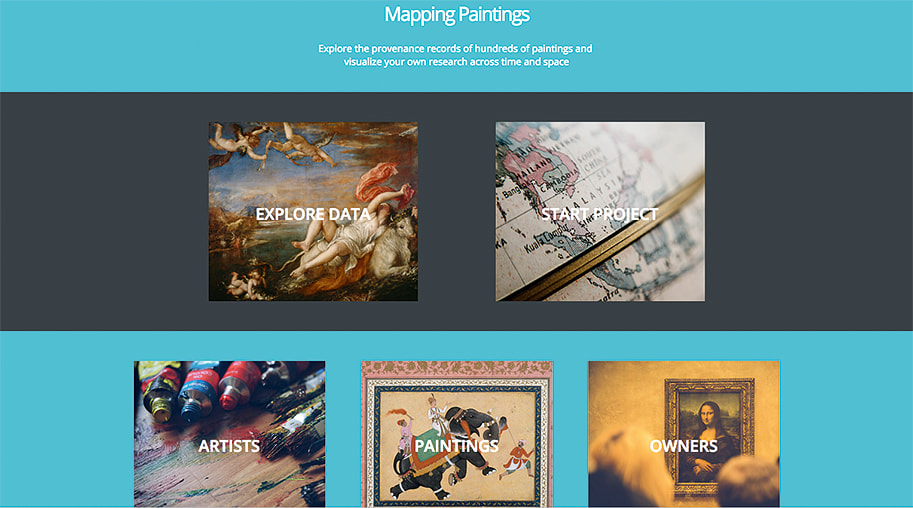 Платформа Mapping Paintings