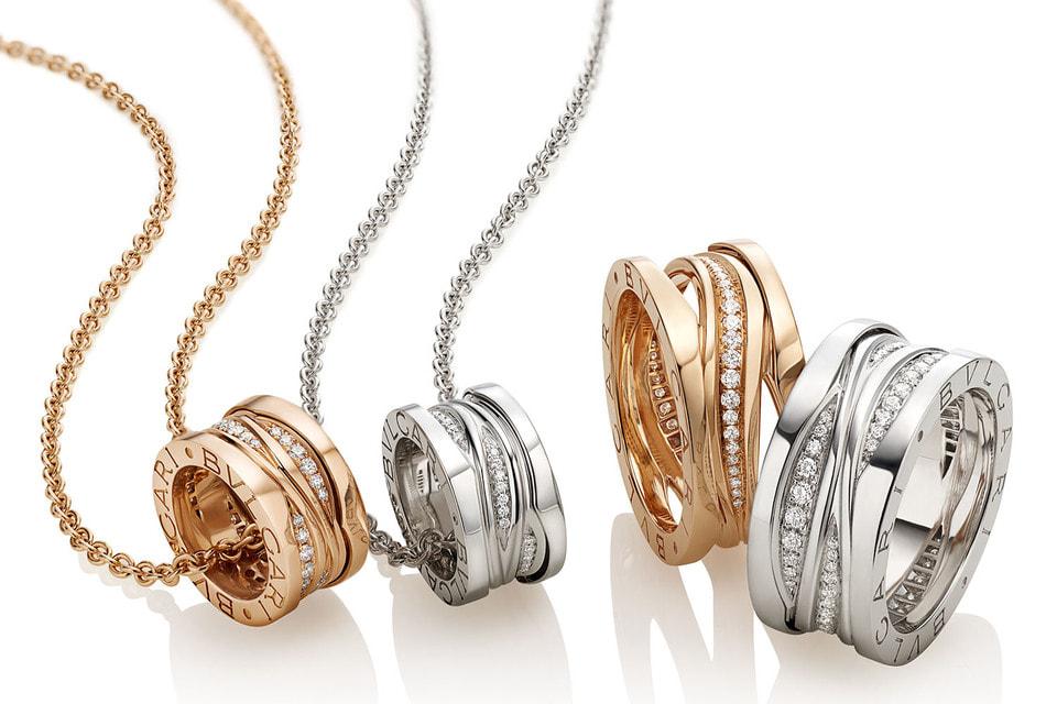 В современной коллекции украшения B.zero1 существуют во всех цветах золота и в разной степени декора бриллиантами