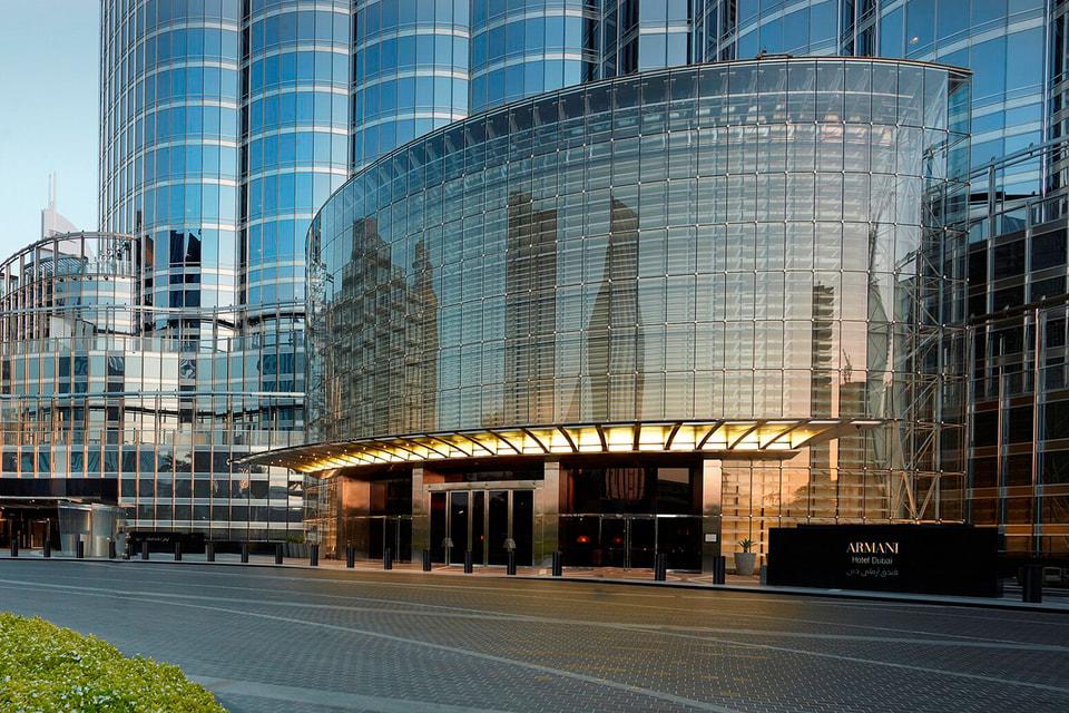 Отель Armani Hotel Dubai, спроектированный итальянским кутюрье Джорджо Армани