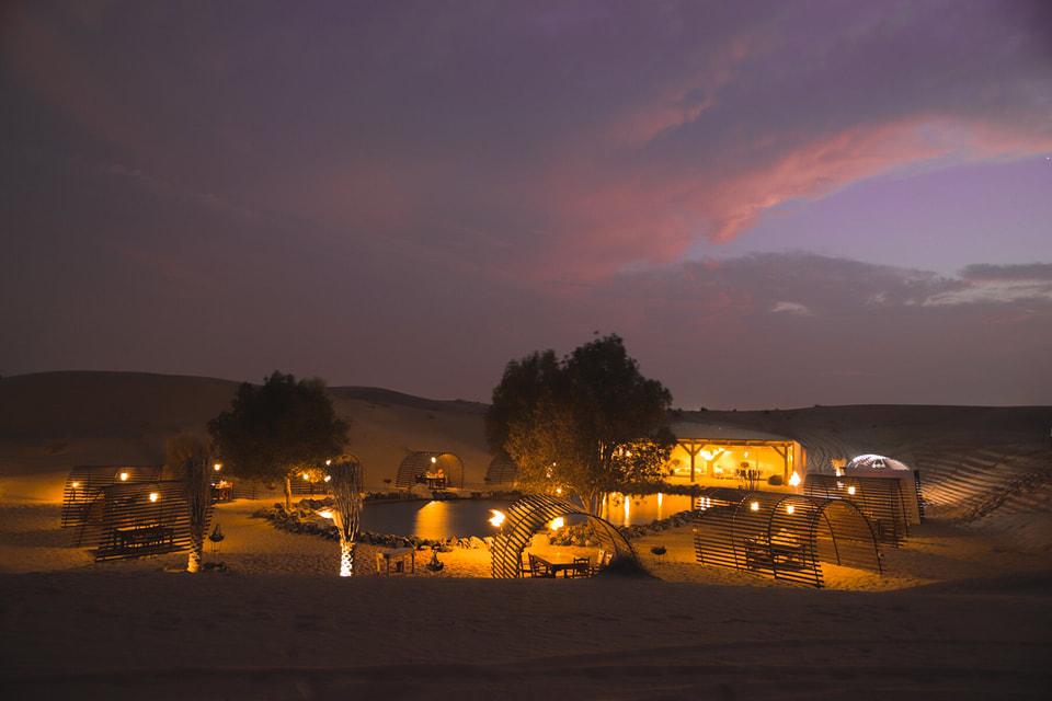 Platinum Heritage в Аравиской пустыне