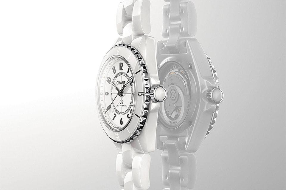 Модель J12 нового поколения  в версии из белой высокотехнологичной керамики