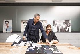 Лорена Антониацци и ее муж Лука Мирабасси – основатели бренда Lorena Antoniazzi
