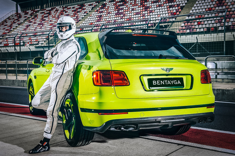 Bentley Bentayga Pikes Peak в цвете Radium