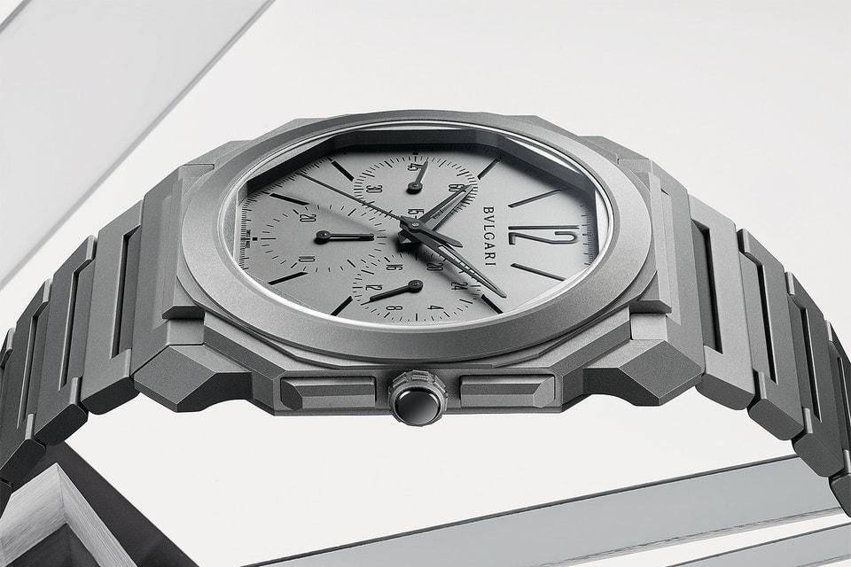 С 2014 г. Bvlgari ставит пятый мировой рекод в тонкости часов: 3,3-миллиметровый хронограф Octo Finissimo GMT Automatic