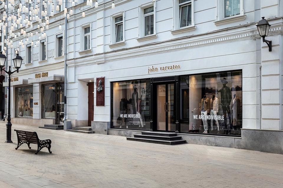 Новый бутик John Varvatos
