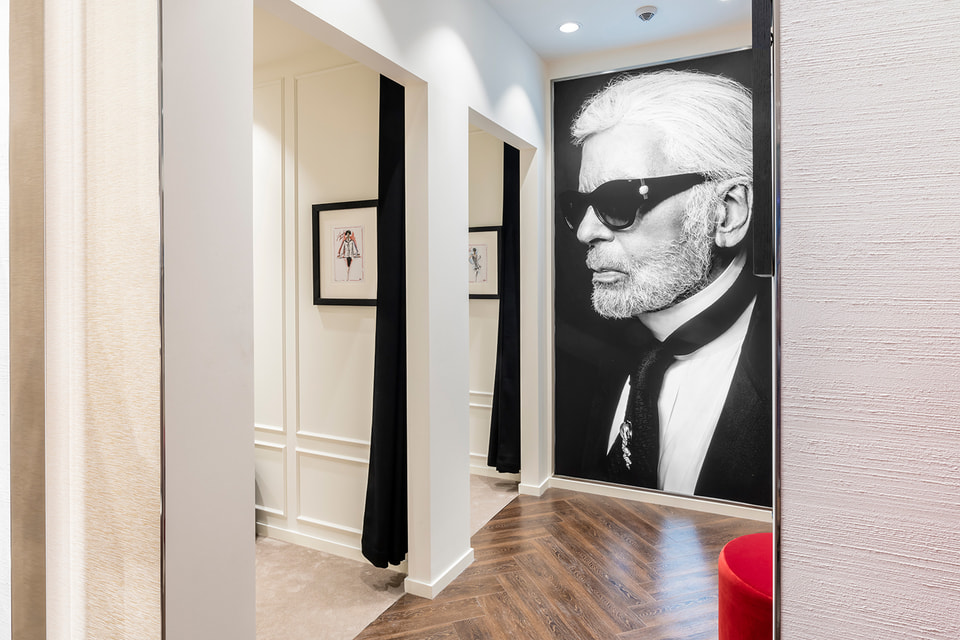 Интерьер нового бутика Karl Lagerfeld