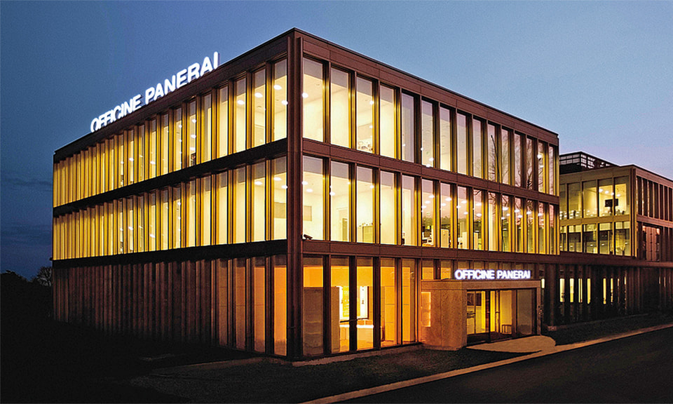 В 2014 г. Officine Panerai открыла новую мануфактуру в Невшателе