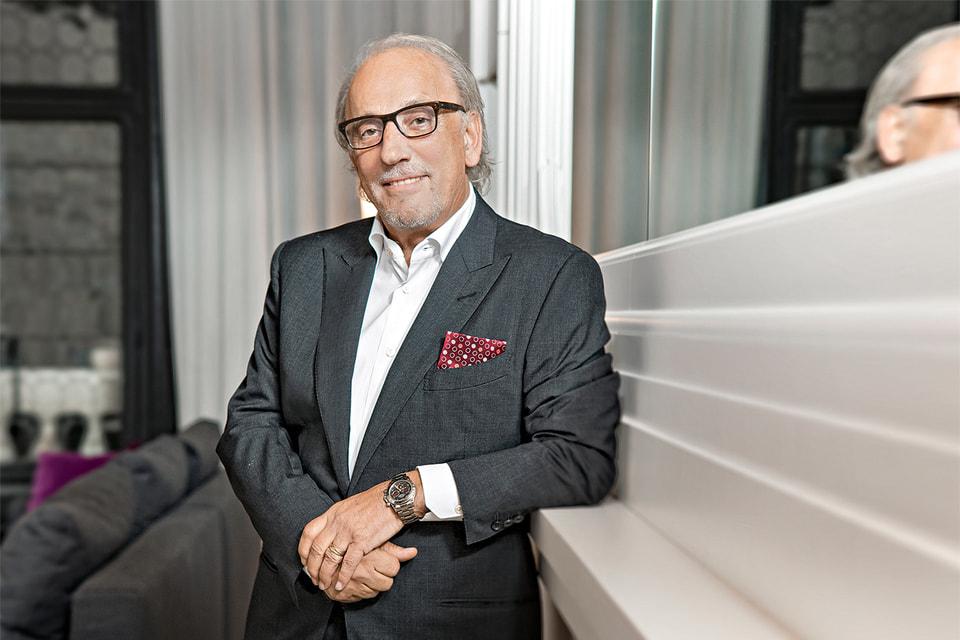 Роберто Коин, креативный директор и владелец одноименного бренда