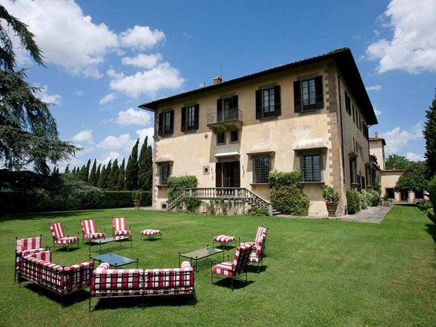 Villa Le Rose расположена в 7 км от  центра Флоренции