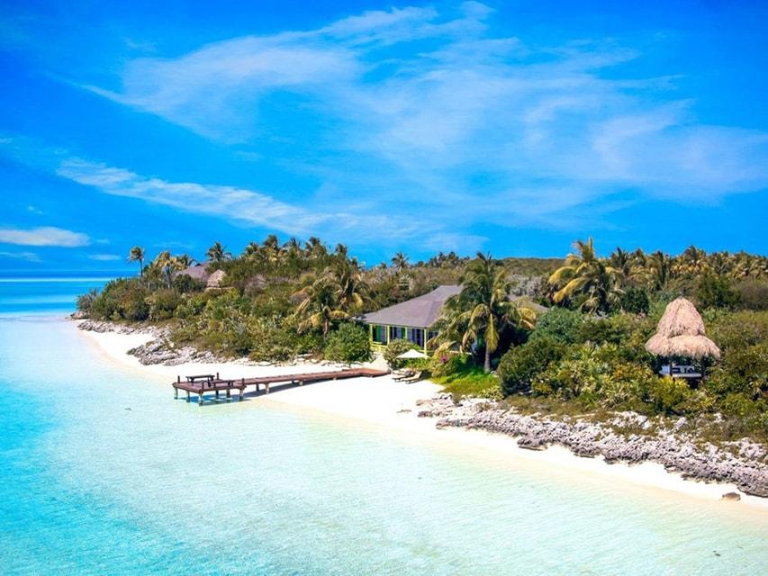 Musha Cay - остров, расположенный в Карибском море