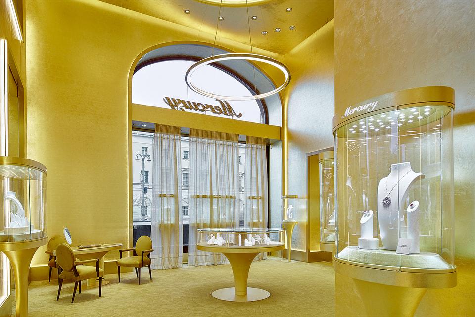 Первый бутик ювелирного бренда Mercury