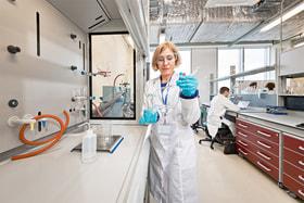 Лаборатория российского стартапа Gurus BioPharm в «Сколково»
