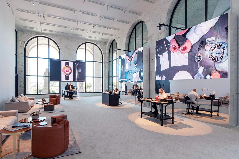 Презентация новой коллекции часов Fendi прошла во Дворце итальянской цивилизации в Риме