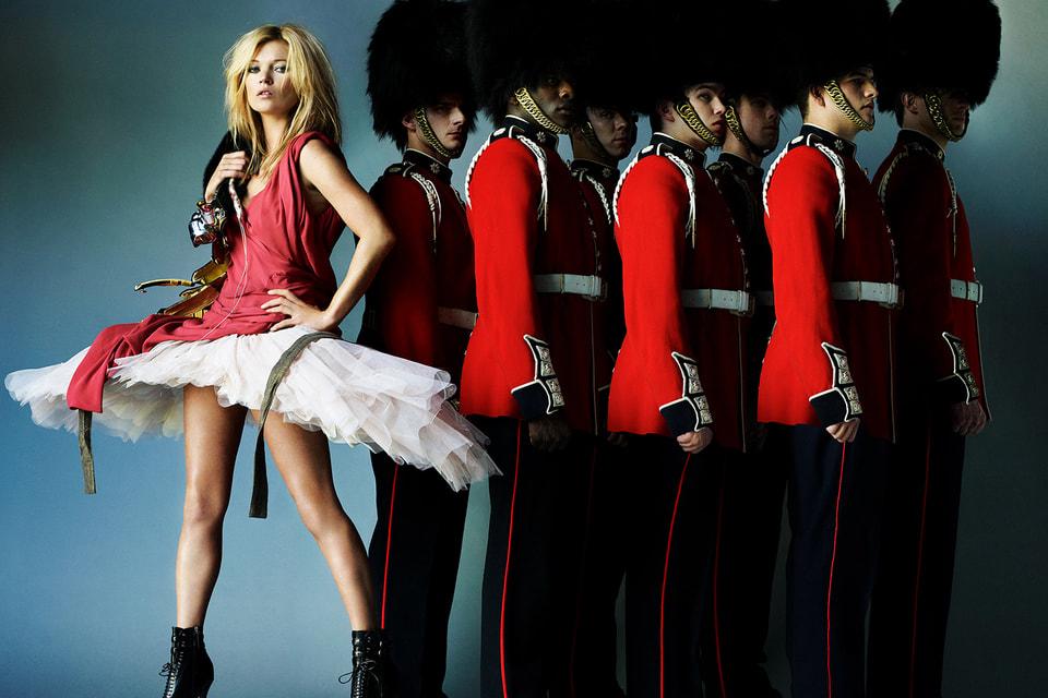 Кейт Мосс, Лондон, Vogue, 2009