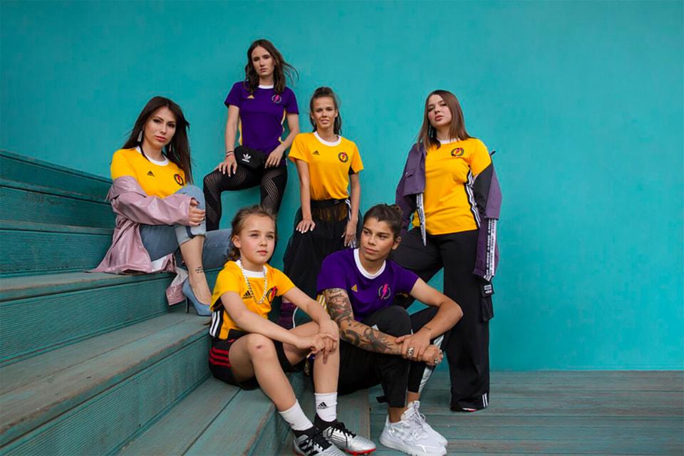 Футольная форма Adidas для девочек