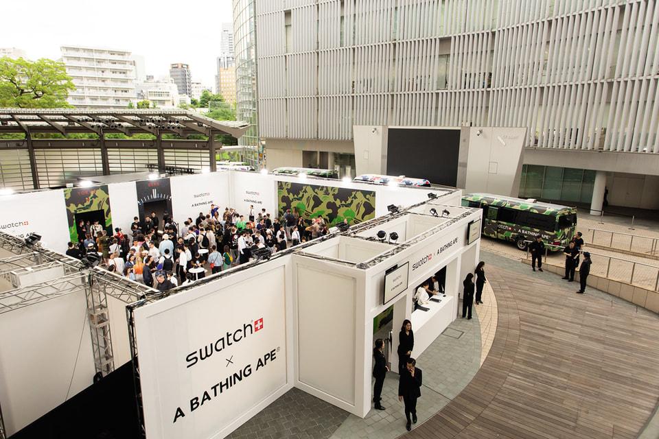 Мировая премьера коллекции состоялась в Токио, в центре культуры и информации The Roppongi Hills