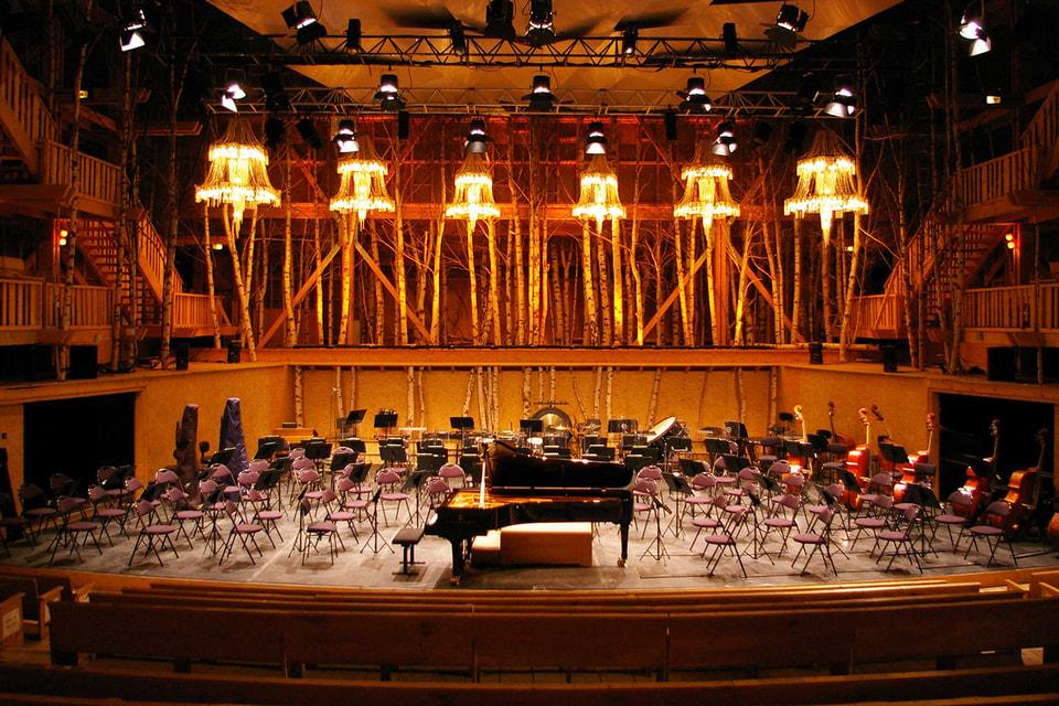 Концертный зал Grange au Lac