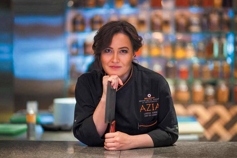 Лариса Кордик, шеф-повар ресторана AZIA, Belmond Grand Hotel Europe