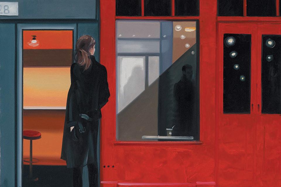 Репродукция картины «Nude Espresso» Марины Федоровой, принт, холст