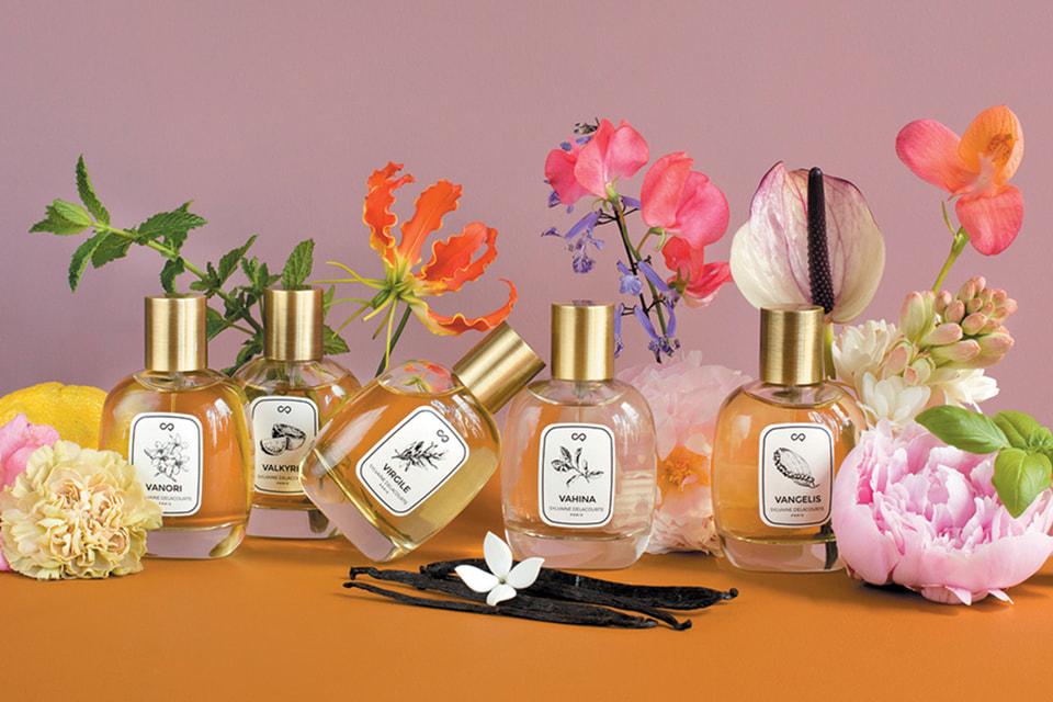 Дизайн для бренда Sylvaine Delacourte, который в Петербурге представлен эксклюзивно в бутиках нишевой парфюмерии Rivoli Perfumery и магазинах РИВ ГОШ, создают современные французские и бразильские художники
