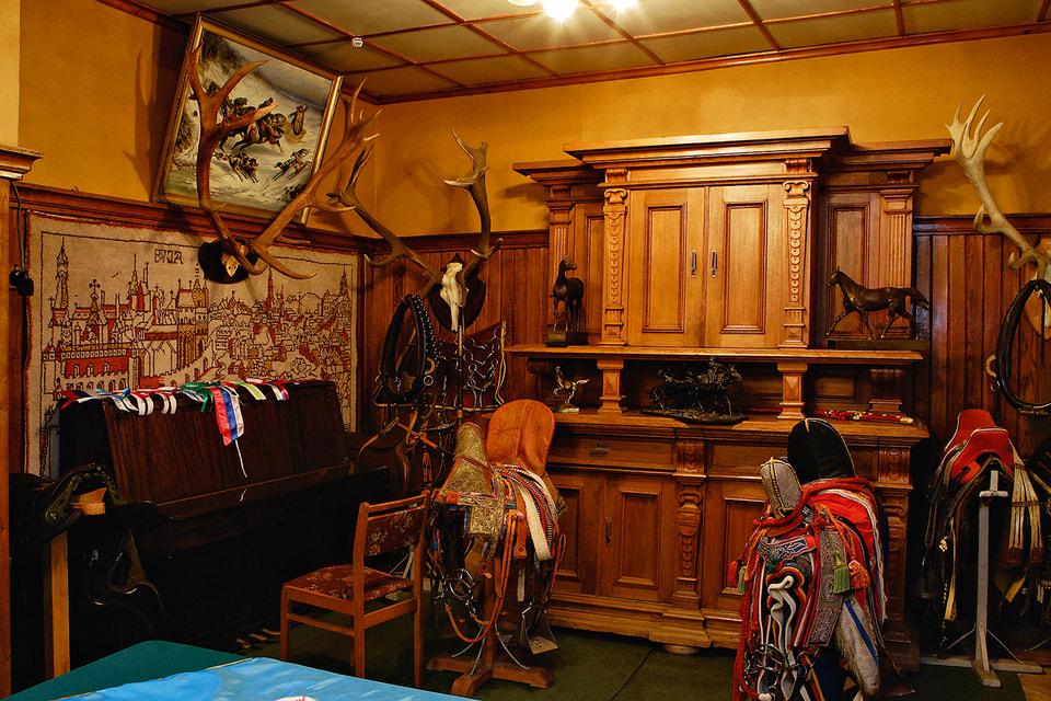 В музее МКЗ-1