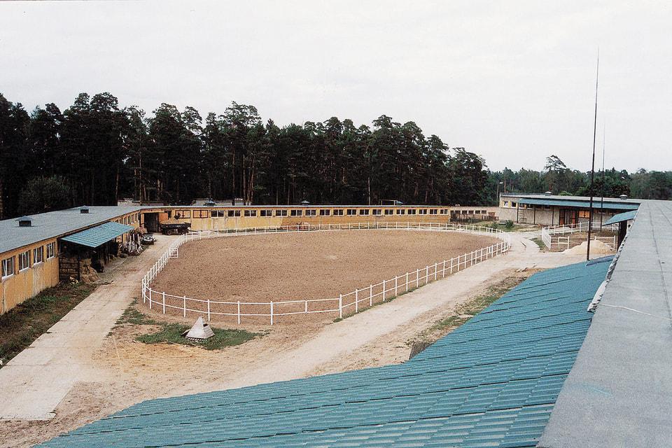 Внутренний двор Московского конного завода № 1