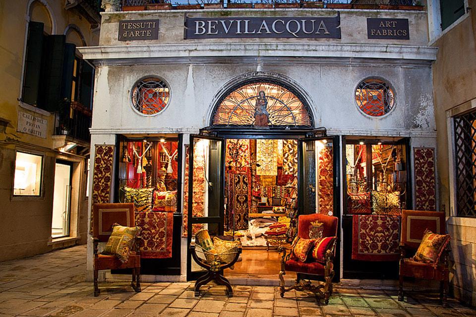 Магазин Bevilacqua в Венеции