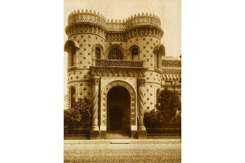 Дом Морозовых на Воздвиженке построен в мавританском стиле