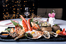Кайсен морепродукты на гриле, MEGUmi