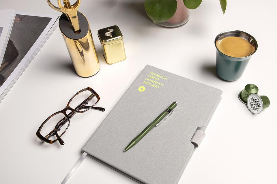 Новая ручка Caran d'Ache сделана из переработанных кофейных капсул