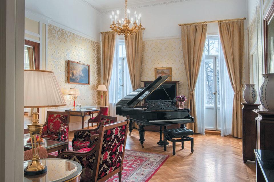 Исторические люкс-апартаменты «Паваротти»