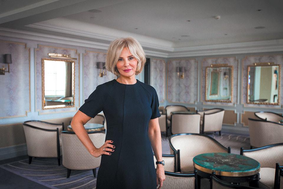 Юлия Пашковская, управляющая отеля Belmond Grand Hotel Europe