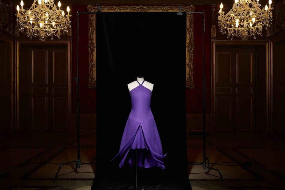 Вечернее платье Christian Dior, созданное Марком Боаном (весна-лето 1967 Haute Couture)