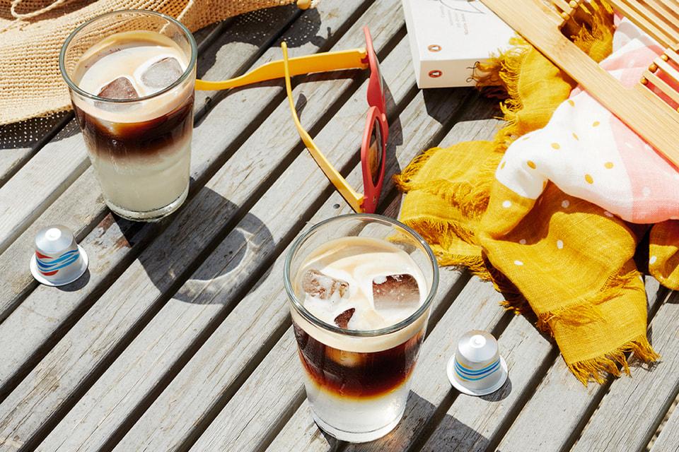 Компания Nespresso перешла на ледяные коктейли