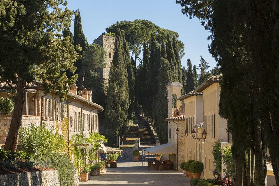 Винодельня на территории поместья Castiglion del Bosco
