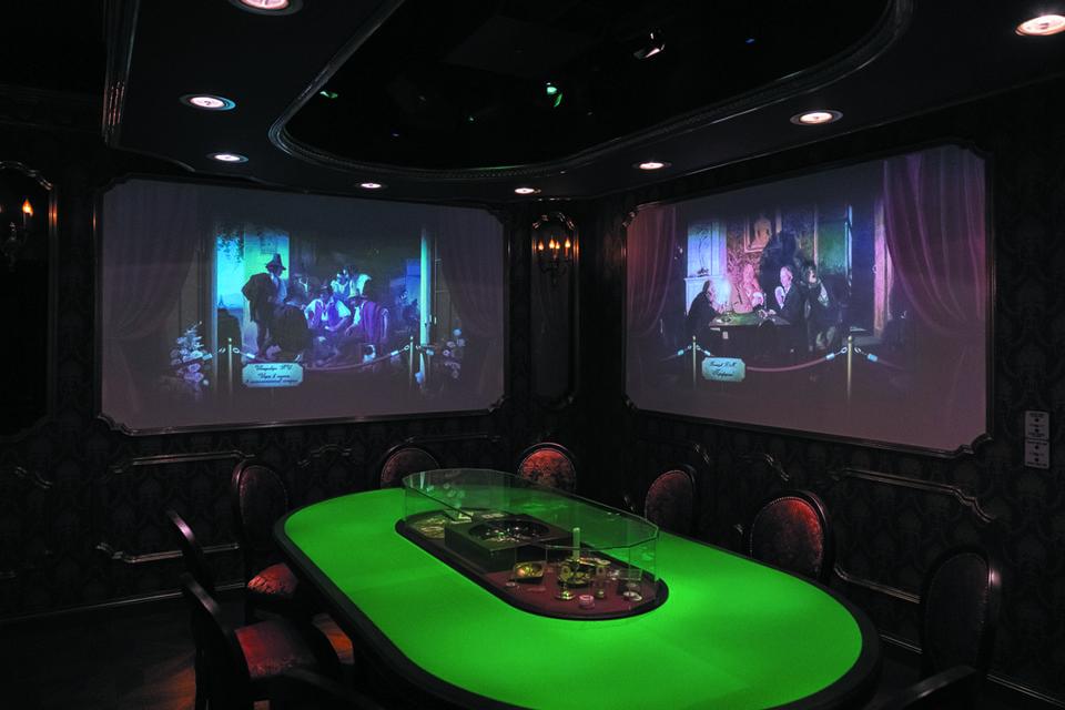В музее можно подслушать воображаемый спор Пушкина и Чайковского о Пиковой даме и прикоснуться к миру казино