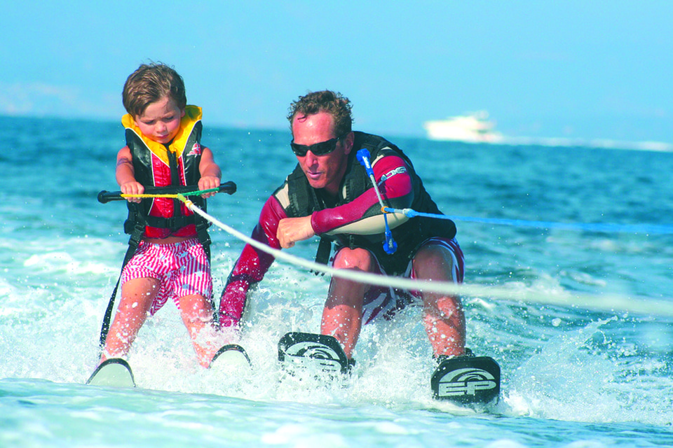 Водные лыжи — ни с чем не сравнимое удовольствие