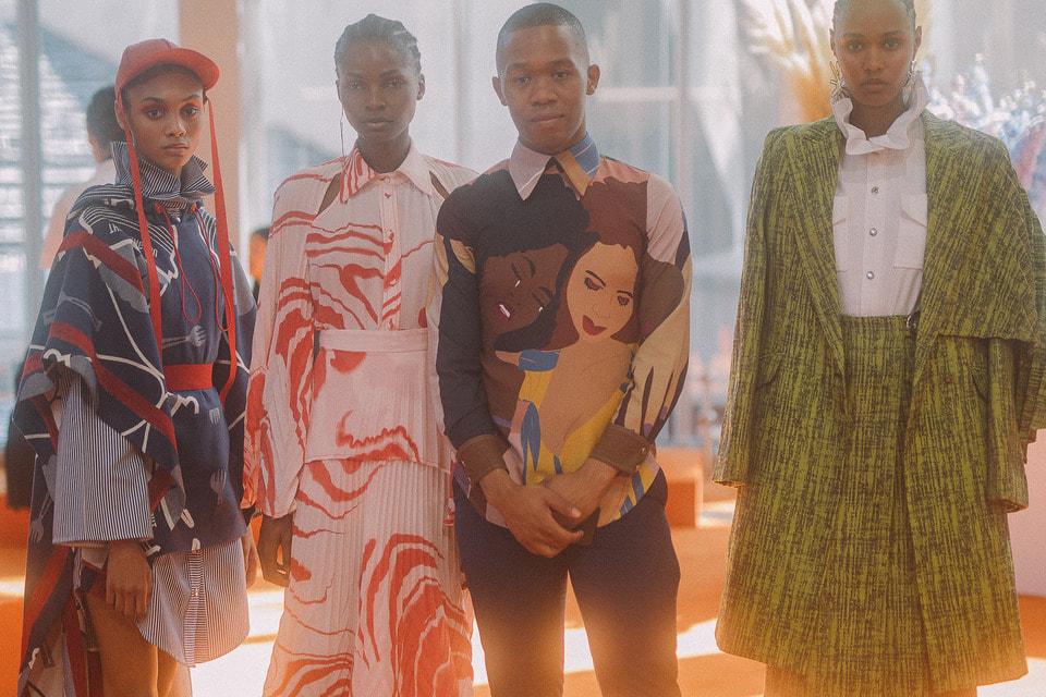 Дизайнер Тэбе Магугу из Южной Африки, лауреат LVMH Prize for Young Fashion Designers